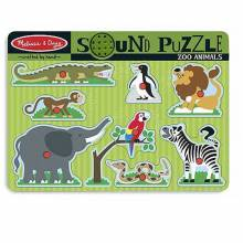 Zoo Animal Sound Puzzle By Melissa And Doug.